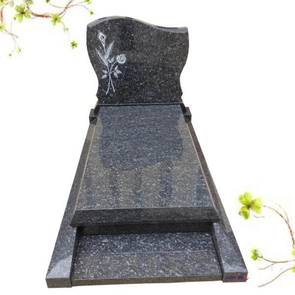 cemetery headstones with photos
