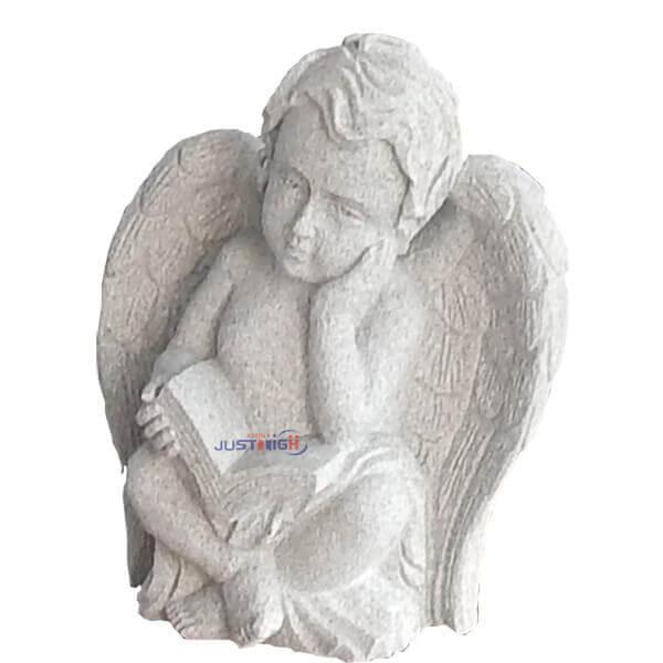 granite angel statue for headstone