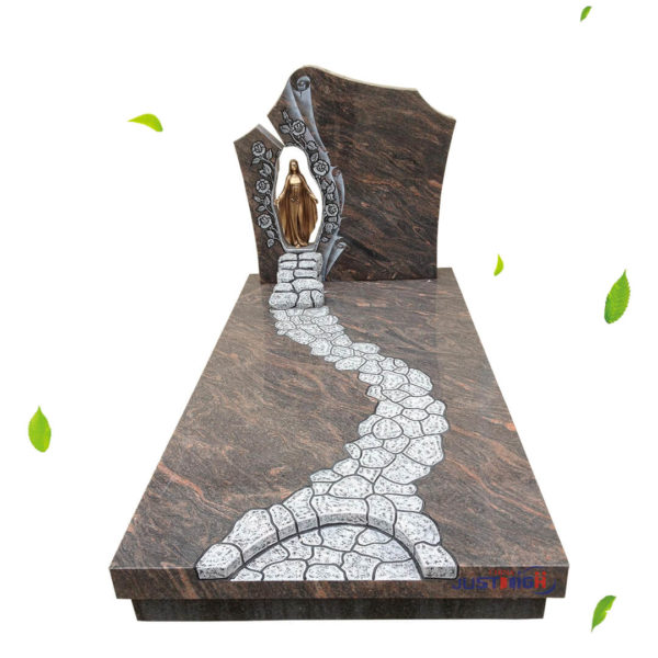 religious headstone design