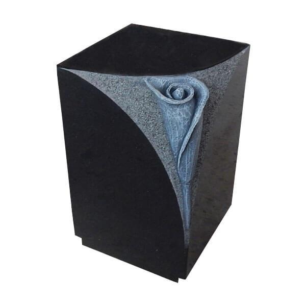 Black Memorial Urn