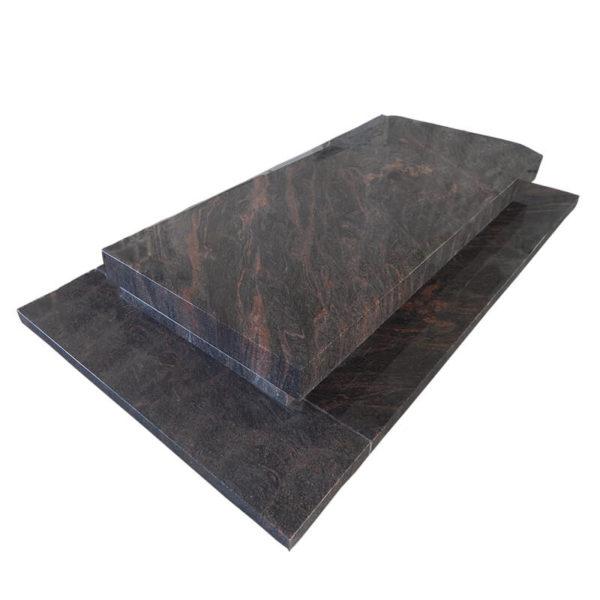granite flat headstones photo