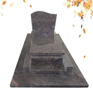 granite headstone colors