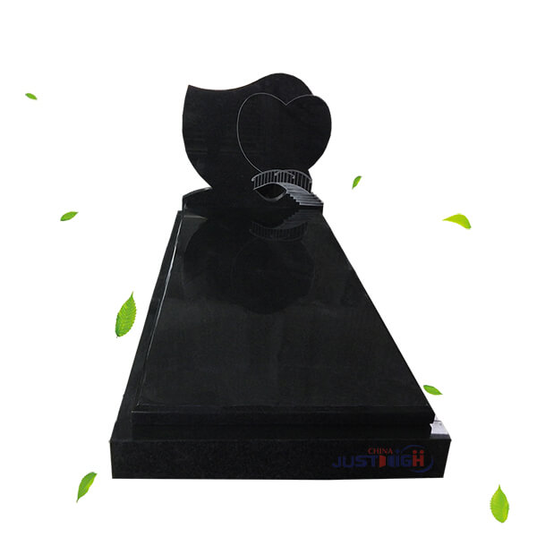heart headstone design from china supplier