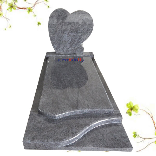 heart headstones for graves uk