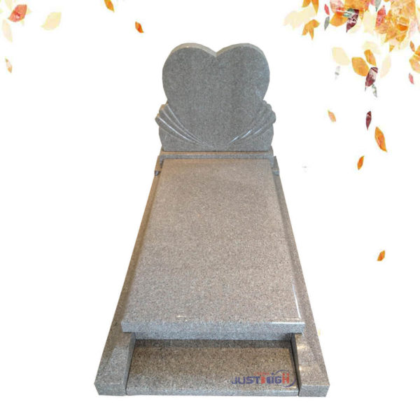 heart shape headstone from china