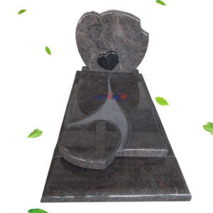 pictures of heart headstones