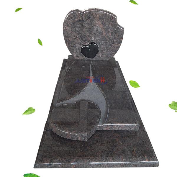 pictures of heart headstones