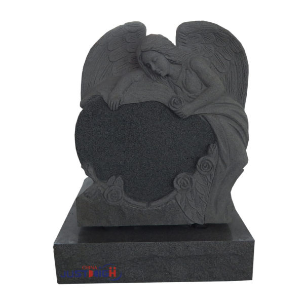 angel carved headstones