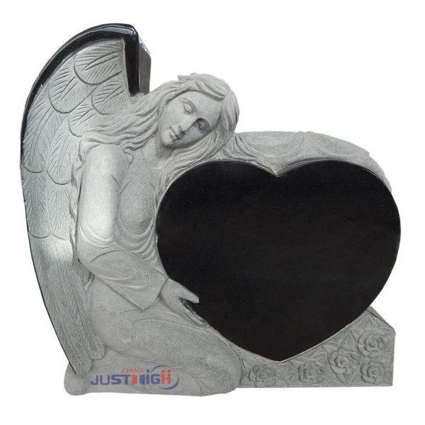 angel headstones for graves uk