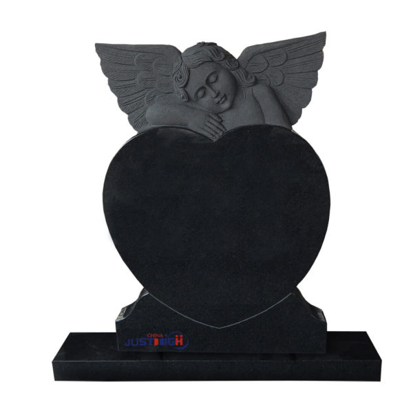 angel shaped headstones
