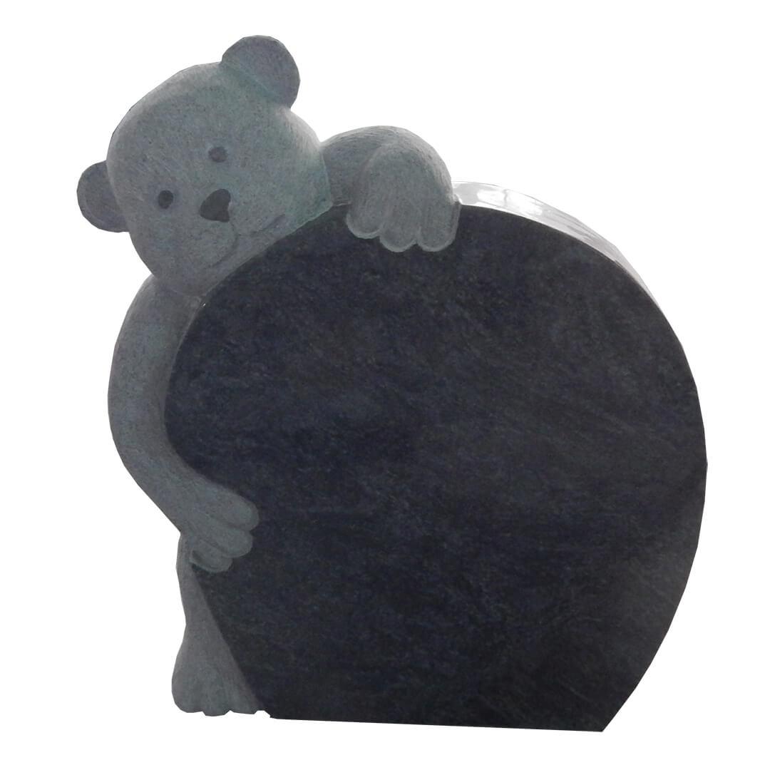 bear statue headstone