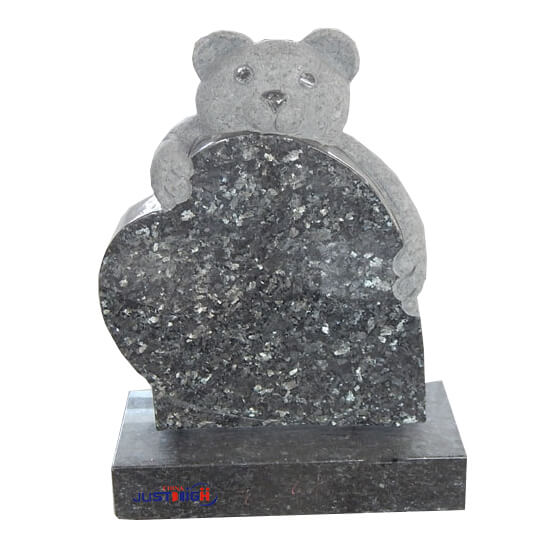 blue pearl granite children headstone