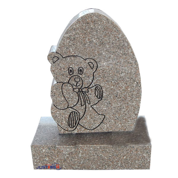 granite headstone child