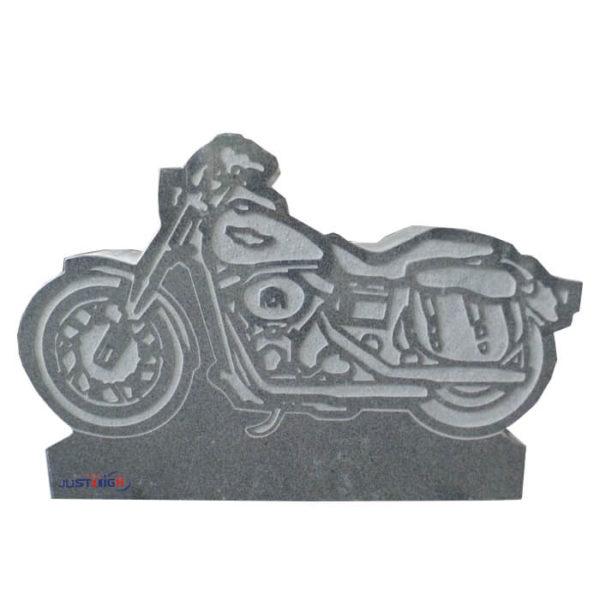 motorcycle headstone design 1