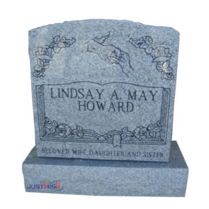 pictures of granite headstones