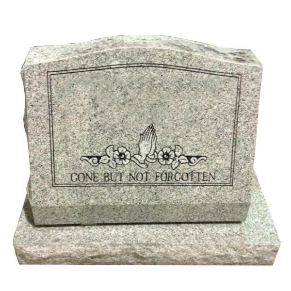 slant headstone designs