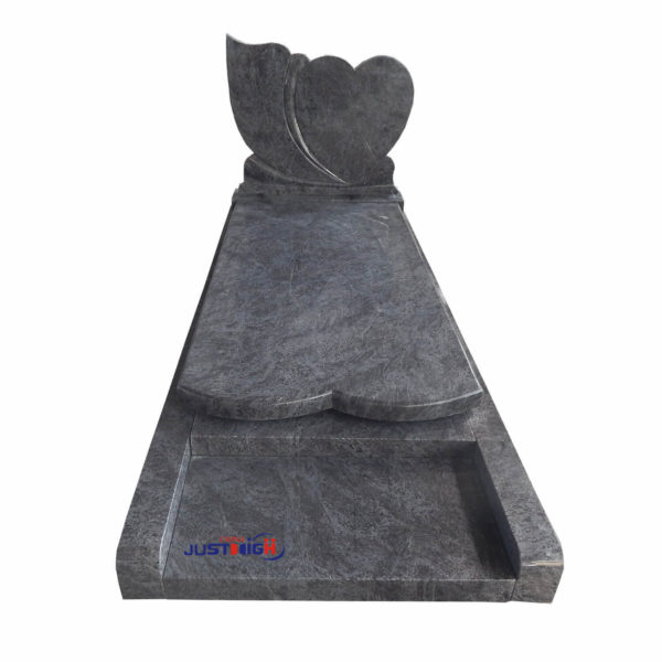 heart shape granite tombstone