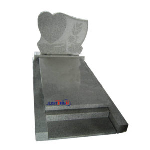 simple granite tombstone