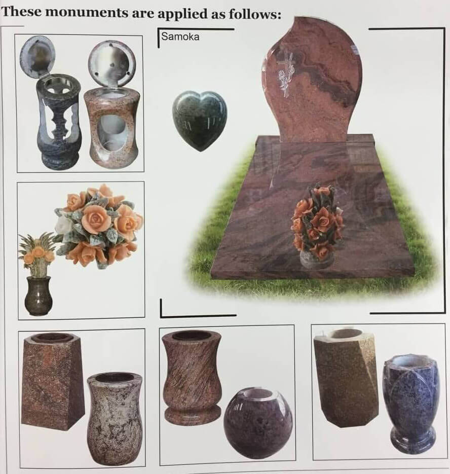 tombstone vase lantern