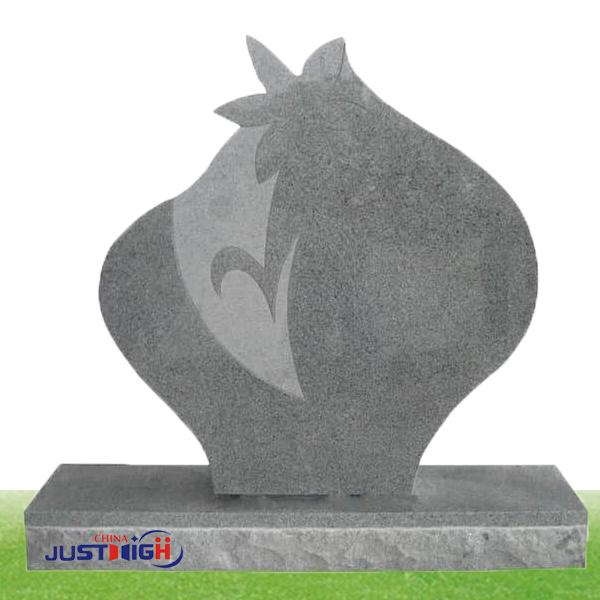 Unique tombstone shape