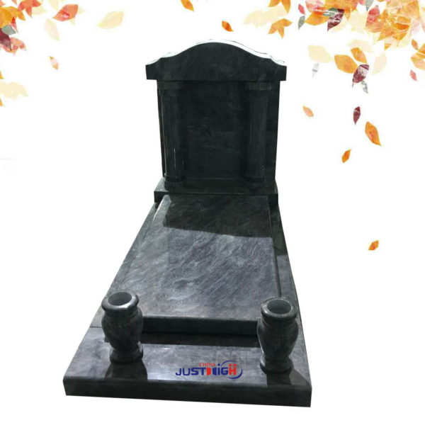 Church style tombstone