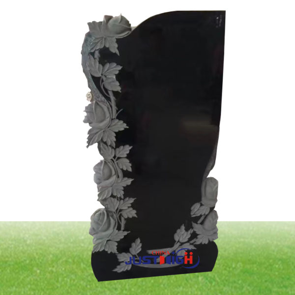 black big granite gravestone wholesale