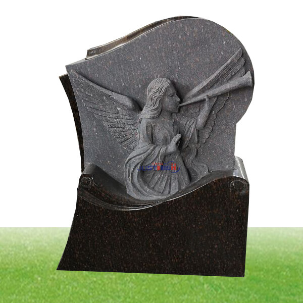 custom angel statue granite headstone supplies