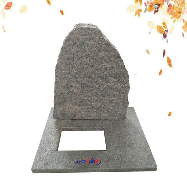 natural granite headstone