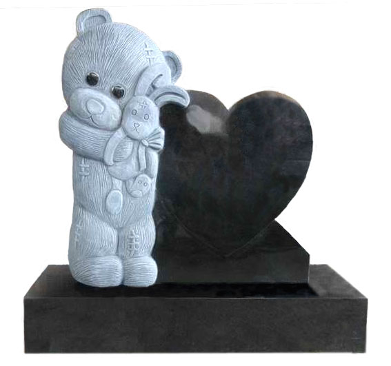 teddy bear headstone monuments