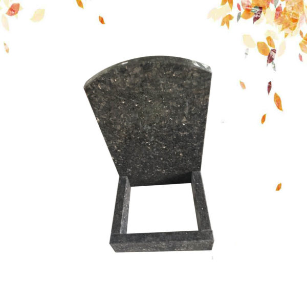 BLUE PEARL GRANITE SMALL HEADSTONE