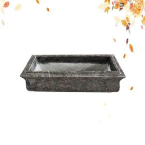 Bahama bule granite fower pot
