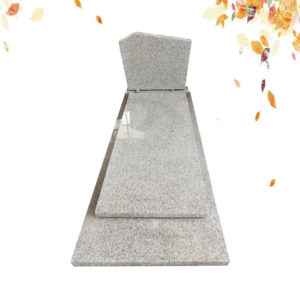 G640 French granite tombstone