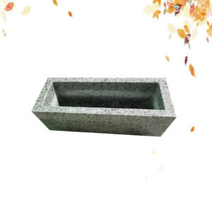 G640 GRANITE flower pot