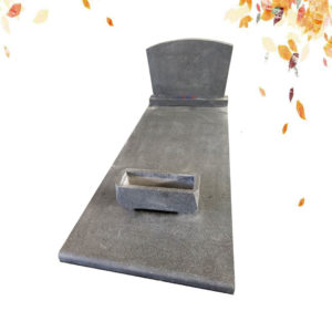 Impala IX single granite headstone supplies