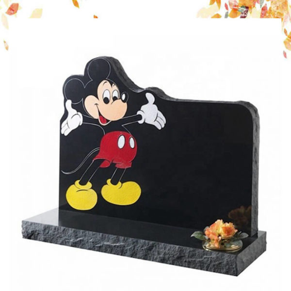 Mickey mouse headstone