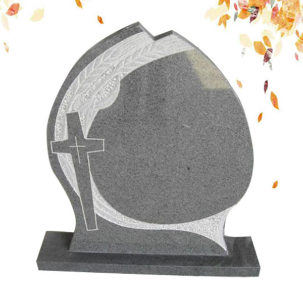 customize cross shape granite tombstone supplier