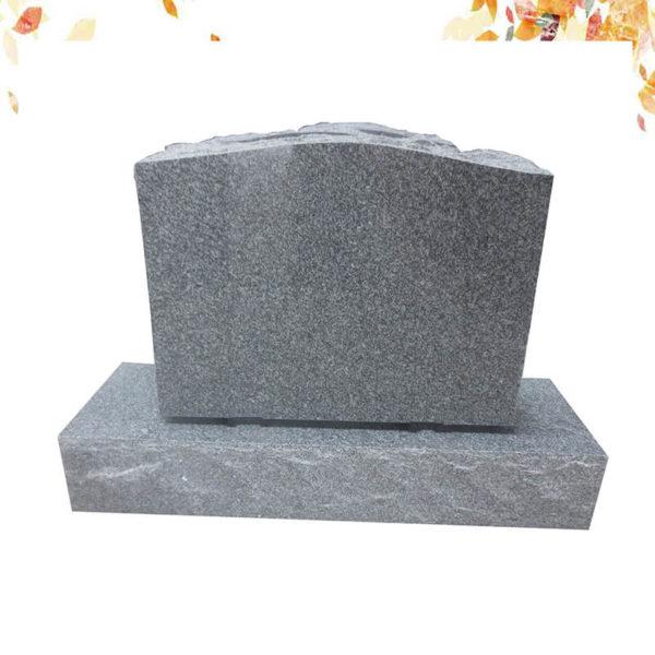 granite headstone base