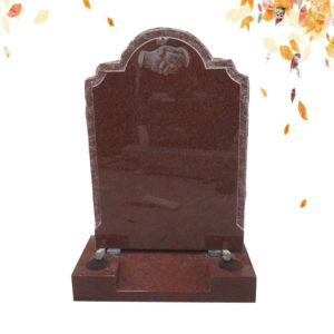 red big granite headstone supplier