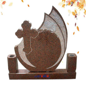 red granite gravestone supplier