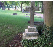 cross headstone
